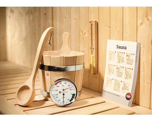 Sauna Premium Zubehörset Weka 5 teilig