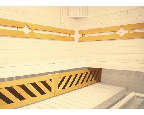 Sauna Komfortpaket 3 Weka für Saunen mit Querliege ab 244x194 cm
