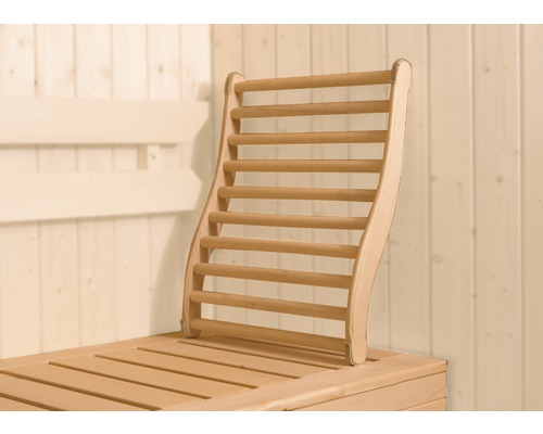 Sauna Lendenstütze Weka aus Holz
