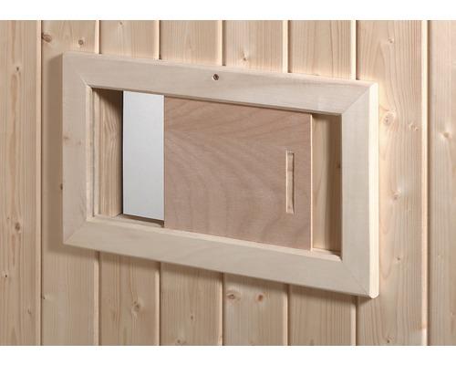 Sauna Lüftungsschieber Weka 41x23,5 cm aus Holz