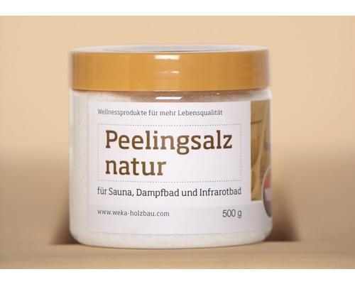 Sauna Peelingsalz Weka natur 500 g