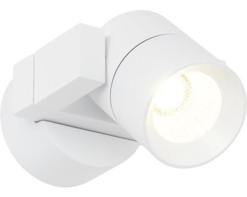 LED Wandspot dimmbar 4W 360 lm 3000 K warmweiß B 90 mm Kristos weiß