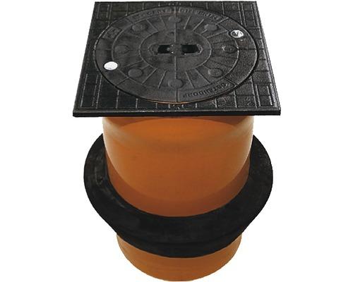Teleskopadeckung PVC NW 315 Rot 40 t