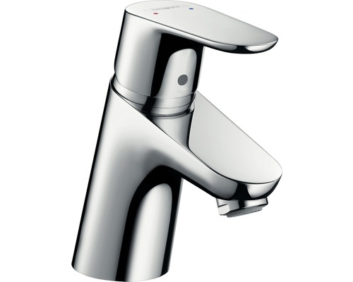 Waschtischarmatur hansgrohe Focus 70 mit Zugstangen-Ablaufgarnitur chrom