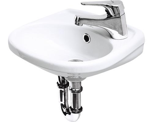 Handwaschbecken Cersanit EKO 35x35 cm Hahnloch rechts weiß
