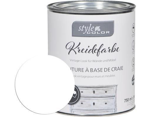 Kreidefarbe StyleColor white 750 ml