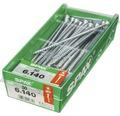 Spax Universalschraube Senkkopf Stahl gehärtet T 30, Holz-Teilgewinde 6x140 mm, 50 Stück