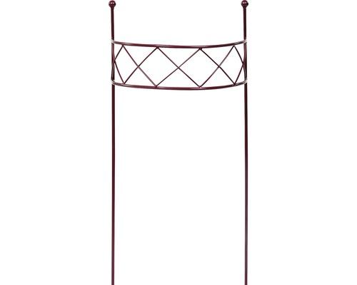 Dekostütze Chris L 90x35x17 cm bordeaux-metallic