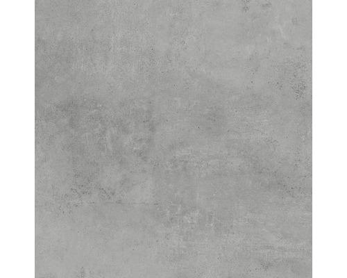 Feinsteinzeug Bodenfliese Hometec Grey matt 60x60 cm rektifiziert