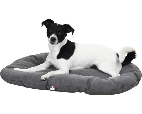 Hundebett Lucca 75x117 cm grau
