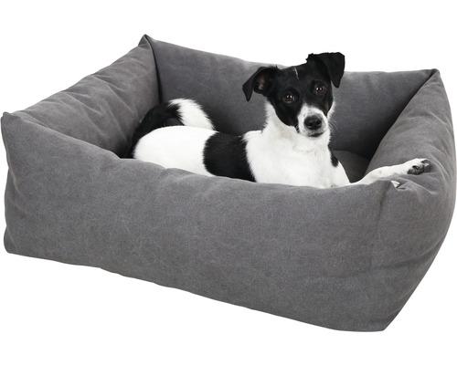 Hundebett Lucca 85x70 cm grau