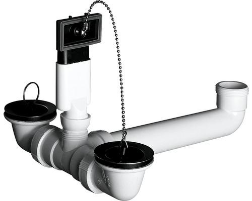 Ab- und Überlaufgarnitur für Einbau-Spüle Norm