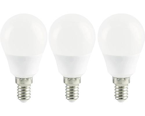 LED Tropfenlampe weiß E14/3,6W(25W) 250 lm 2700 K warmweiß 3 Stück