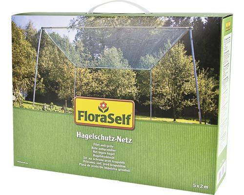 Hagelschutz-Netz FloraSelf 5x2 m 8 mm grün