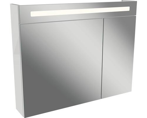Spiegelschrank Fackelmann Lino 90x71 cm 2-türig weiß