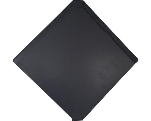 PRECIT Aluminium Dachschindel Quadra anthracite grey RAL 7016 316 x 316 x 0,7 mm
