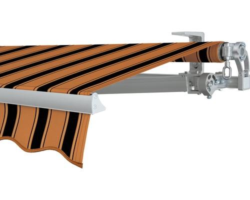 Gelenkarmmarkise 400x200 cm SOLUNA Concept ohne Motor Dessin 6363