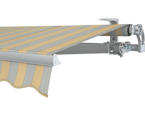 Gelenkarmmarkise 350x250 cm SOLUNA Concept mit Motor Dessin 6676