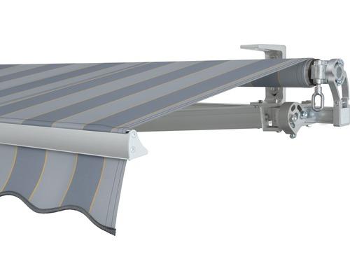 Gelenkarmmarkise 400x200 cm SOLUNA Concept ohne Motor Dessin 7109