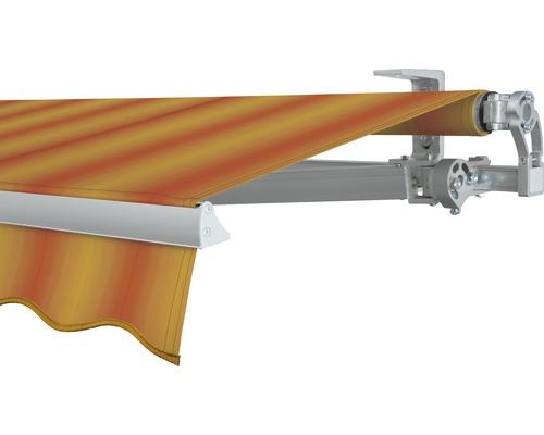 Gelenkarmmarkise 400x200 cm SOLUNA Concept mit Motor Dessin 320180