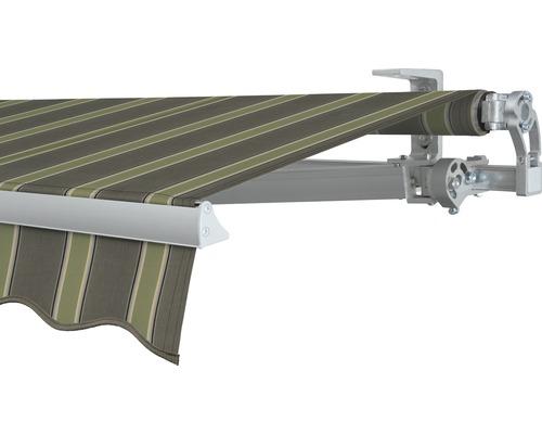 Gelenkarmmarkise 350x200 cm SOLUNA Concept mit Motor Dessin F042