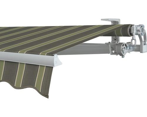 Gelenkarmmarkise 400x200 cm SOLUNA Concept ohne Motor Dessin F042