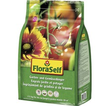 Gartendünger & Gemüsedünger FloraSelf, 2,5 kg