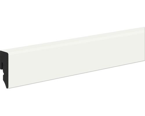 Sockelleiste PVC KU048L weiß 15x38,5x2400 mm