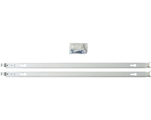 Montageschienen Set für Austausch-Heizkörper Bauhöhe 950 mm