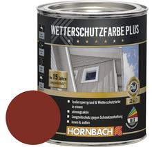 Holzfarbe Wetterschutzfarbe Plus schwedenrot 750 ml
