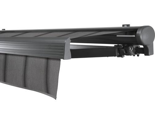 Hülsenmarkise 600x200 cm Soluna Comfort mit Motor Dessin Trend D419