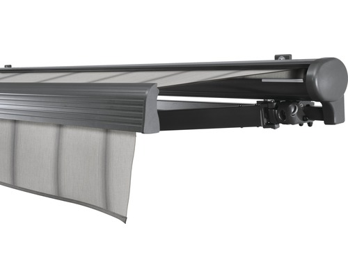 Hülsenmarkise 250x200 cm Soluna Comfort mit Motor Dessin Trend D420