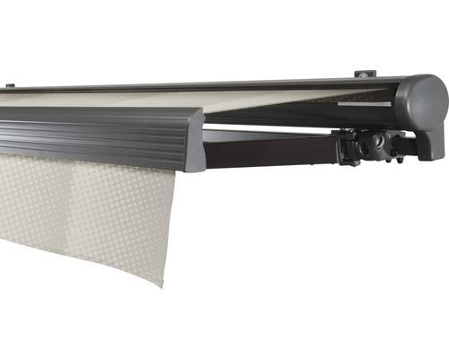Hülsenmarkise 600x350 cm Soluna Comfort ohne Motor Dessin Trend J202