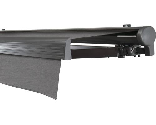 Hülsenmarkise 450x400 cm Soluna Comfort ohne Motor Dessin Trend U104