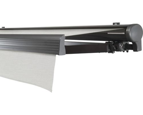 Hülsenmarkise 600x200 cm Soluna Comfort mit Motor Dessin Trend U190