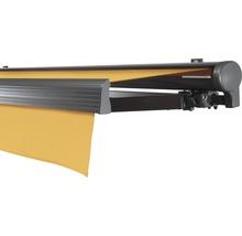 Hülsenmarkise 350x300 cm Soluna Comfort mit Motor Dessin Trend U415