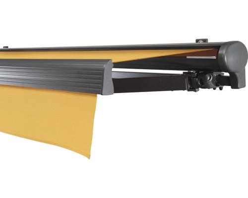 Hülsenmarkise 500x400 cm Soluna Comfort ohne Motor Dessin Trend U415