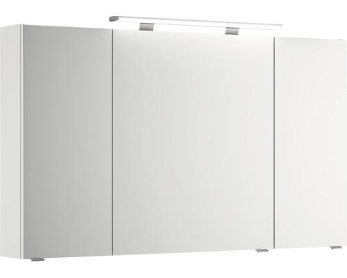 Spiegelschrank Pelipal Xpressline 4010 120x70,3x17 cm 3-türig weiß