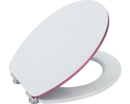 WC-Sitz Form & Style Edge metallic rose mit Absenkautomatik
