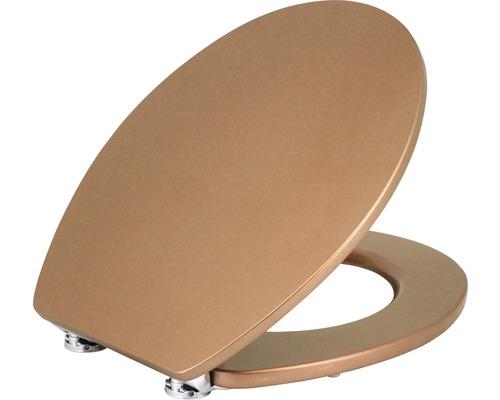 WC-Sitz Form & Style Metallic copper mit Absenkautomatik