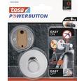 Haken Tesa Powerbutton Premium rund chrom