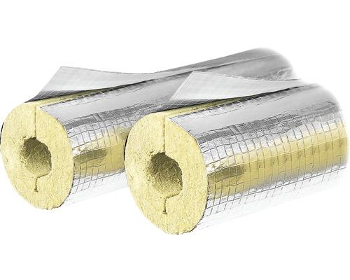 Steinwoll-Rohrschale Steinbacher aluminiumkaschiert 48x20 mm