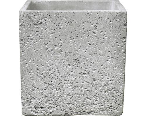 Blumentopf Soendgen Latina Concrete 13x13 cm hellgrau