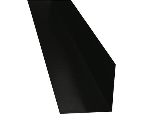 PRECIT Winkelblech ohne Wasserfalz anthracite grey RAL 7016 2000 x 125 x 125 mm