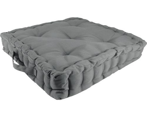Sitzkissen Cotton grau 43x43 cm