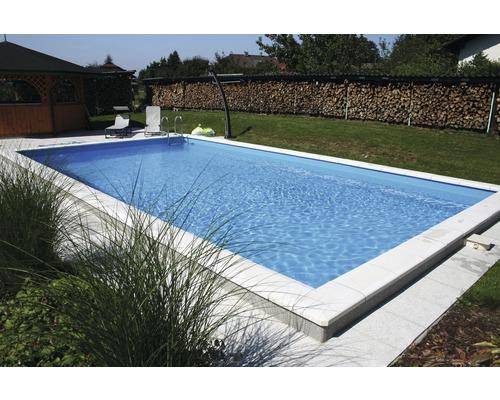 Styropor-Pool Luxus P30, 600 x 300 cm, Tiefe 150 cm