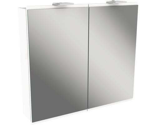 Spiegelschrank Fackelmann Lima 80x73 cm 2-türig weiß