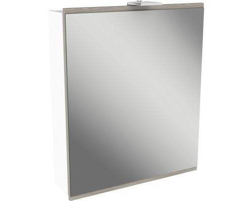 Spiegelschrank Fackelmann Lima 60x73 cm Steinesche 1-türig weiß