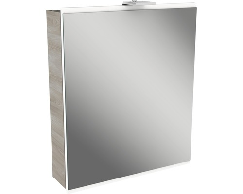 Spiegelschrank Fackelmann Lima weiß 60x73 cm 1-türig Steinesche