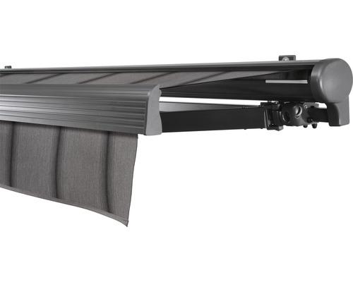 Hülsenmarkise 350x300 cm Soluna Comfort mit Motor Dessin Trend D419 inkl. Sonnen und Windwächter